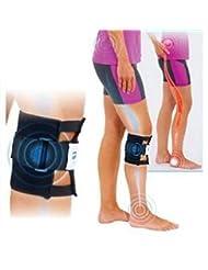Cenblue Beactive jambe de veau d'acupression Brace pour traiter de dos, douleur à la hanche, sciatique, -- genou Surport