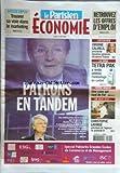PARISIEN ECONOMIE (LE) [No 20127] du 25/05/2009 - PATRONS EN TANDEM / BAUDOIN PROT - MICHEL PEBEREAU -CHRISTOPHE LAFARGE -UNE CAVE QUI VAUT DE L'OR -TETRA PAK A RENDU CELEBRE L'EMBALLAGE EN CARTON -TROUVER SA VOIE DANS LE MARKETING...
