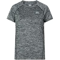 Canterbury Vapodri Training Camiseta, Mujer, Static Marl, Medium