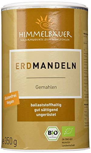 Preisvergleich Produktbild Himmelbauer Bio-Erdmandeln,  fein geflockt 350g,  1er Pack (1 x 350 g)