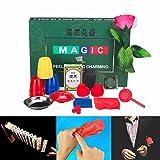 VIDOO 8 Generi Trucco Magico Gioco Con Dvd Insegnare Trucchi Di Magia Professionale Stage Close Up Magici Giocattoli Di Moda
