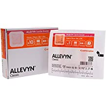 ALLEVYN Gentle Border - 7.5cm x 7.5cm (x10)