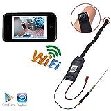 P2P WIFI 1080P Full HD 1920 × 1080P Pinhole Spy-Kameras Mini-Kamera-Überwachung Kamera-Überwachung in Echtzeit aus dem iPhone Android-Handy