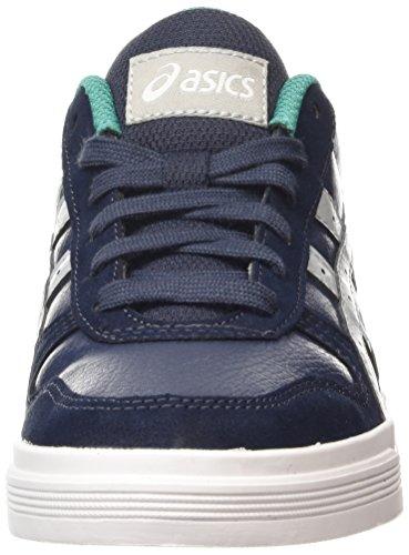 Asics Aaron, Baskets Basses Mixte Adulte Bleu (indian Ink/light Grey 5013)