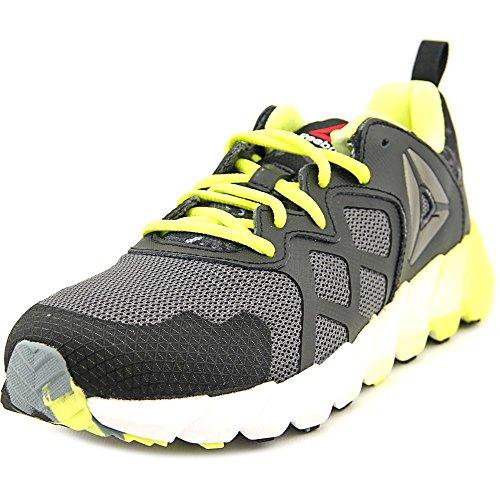 Reebok Exocage Athletic GR Maschenweite Laufschuh Blck/Gry/Hero Yellow/Wht