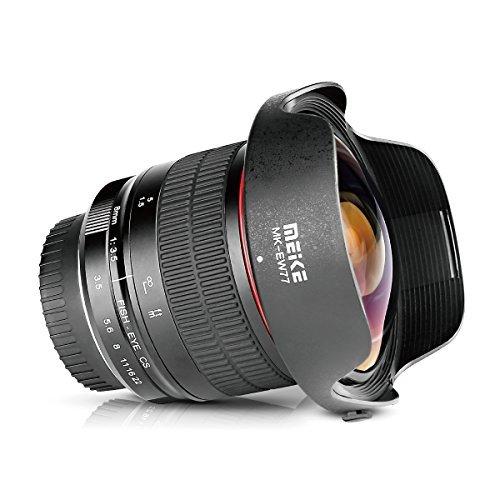 Meike Optics MK 8mm f3.5 Fisheye-Objektiv Ultra-Weitwinkel für Nikon