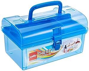 Cello Multi-Purpose Plastic Storage Box, Blue