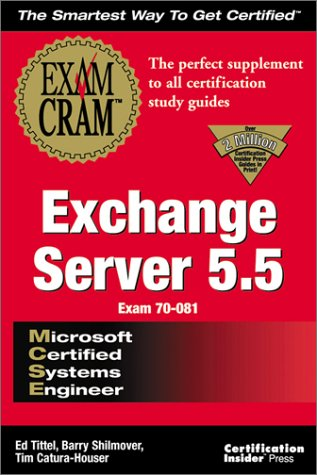 MCSE Exchange Server 5 (Exam Cram (Coriolis Books))