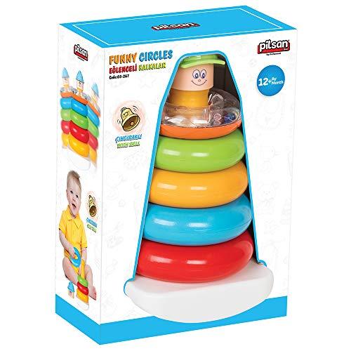 Pilsan pilsan03267Funny Circles Spielzeug Set (5-teilig) (Horse Manhattan Toy)