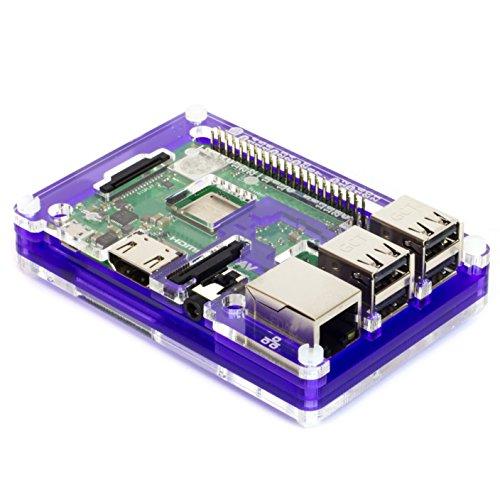 Pibow 3 B+ Coupé (Raspberry Pi 3 B+, 3, & 2) (Coupé Royale) (Pibow Raspberry)