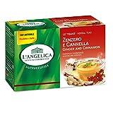 L'Angelica Tisana Zenzero e Cannella - 20 Filtri - 44 g