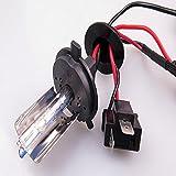 Eaglerich 2 PCS NUEVO descarga de alta intensidad luces HID Kit de DC12V 35W 6000K bombillas de xenón H4-1