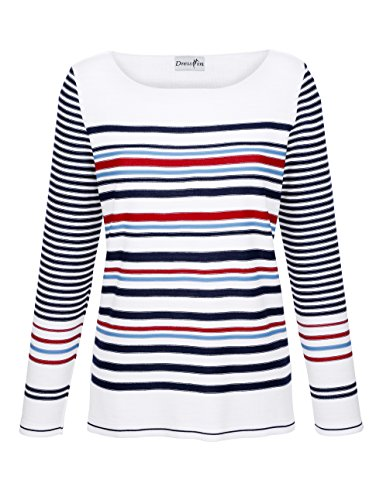 Dress In Damen Pullover In Streifenoptik 36 by