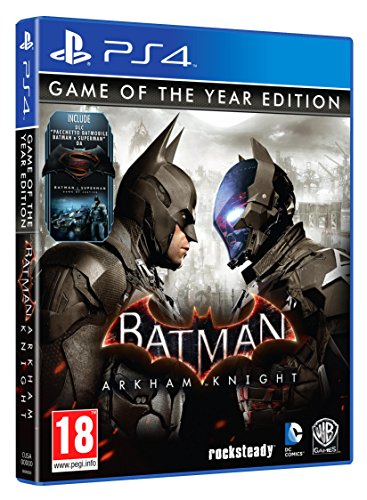 Batman Arkham Knight - Game Of The Year [Importación Italiana]