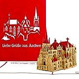 Pop-Up Karte Aachener Dom