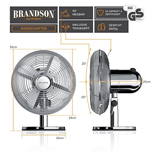 Brandson – Retro Tischventilator kaufen  Bild 1*
