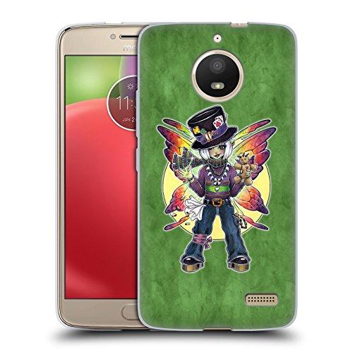 (Head Case Designs Offizielle Brigid Ashwood Mardi Gras Feen 2 Soft Gel Hülle für Motorola Moto E4)