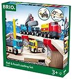 BRIO Straßen und Schienen Steinverlade Set