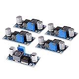 XCSOURCE® 5 Stück XL6009 5-32V auf 5-50V DC-DC-Boost Modul Ausgabe Stromspannung Einstellbar Step up Boost Power Converter Leiterplatten Modul 400kHz Ersatz für LM2577 TE582