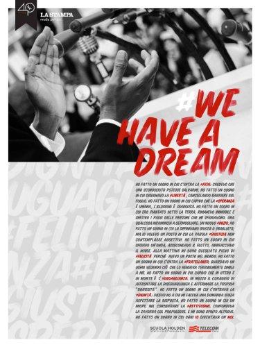 #Wehaveadream (Italian Edition) book cover