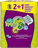 Pampers Kandoo Magic Melon Toilet Wipes, 3 x 55 Wipes (165 Wipes)