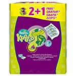 Kandoo Melon Flushable Toilet Wipes - 2+1 free (Total 165 wipes)