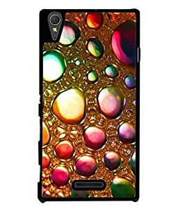 FUSON Designer Back Case Cover for Sony Xperia T3 (Ladies fashion Jewellary Ear rings Makeup Kit)