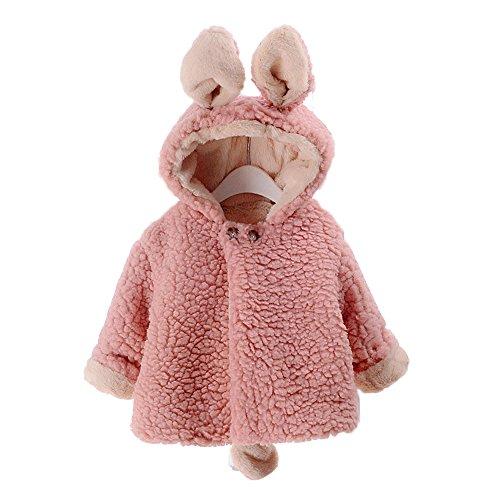 Benutzerdefinierte Hoody (Winter Kinder dicke Wolle warme Jacke, Mädchen süße Hoodies mit Ohren & Tail Cloak Jacke)
