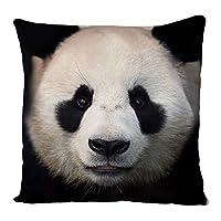 Uk print king Panda, Pillow Case, Cushion Cover, Home Sofa Décor