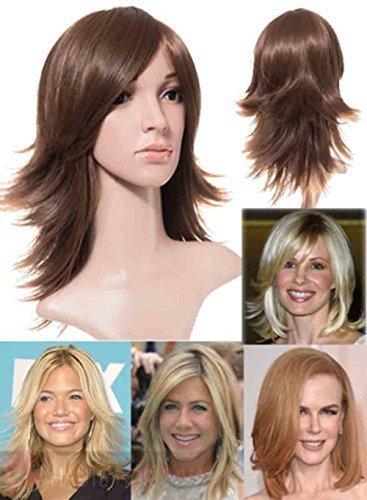 Haute Pour Diva Inspiré Célébrité Protection Complète Cheveux Synthétique Breeze Flick Stratifié 16\\
