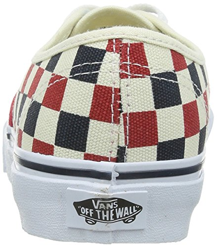 Vans U Authentic, Baskets Mode Mixte Adulte Rojo (Golden Coast)