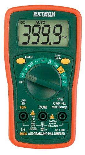 Extech Digitales Mini-Multimeter, 1 Stück, MN36