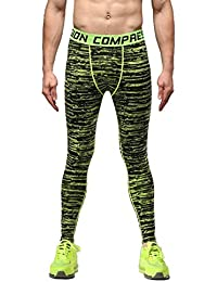 Rera Herren Camouflage Motiv Sport Leggings lang Schnell trocknend Pro  Trainingshosen Kompressions Leggings 0fc2598b3f