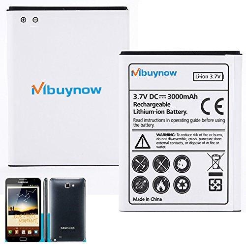 Mbuynow 3000mAh Li-ion Batería de Reemplazo para Samsung Galaxy Note N7000 i9220
