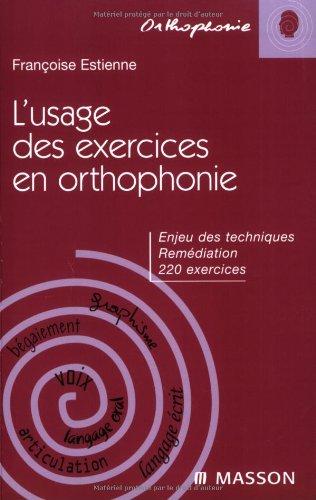 L'usage des exercices en orthophonie