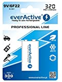 everActive Professional Line Akku R-9V 6F22/9V Ni-MH mAh wiederaufladbar