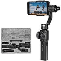 Zhiyun Smooth 4 3-Axis Handheld Gimbal Stabilizer Compatible with iPhone X 8 7 6 Smartphones Vertigo Shoot Phonego Mode Focus Pull & Zoom Capability ( Some function can not support Android Temporarily)