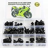 Verkleidungsschrauben OEM Style Kawasaki ZX-6R ZX600P 07-08 schwarz