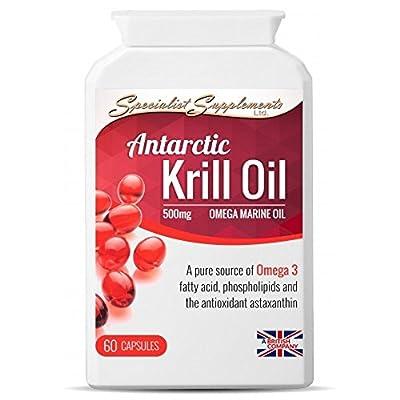 Wild antarctic krill oil - Gelatin capsules (60 Capsules)
