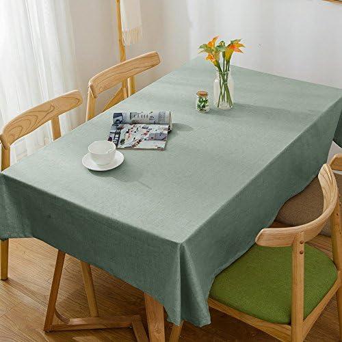 120180 cm verde solido scandinavo minimalista Instagram Garden picnic rettangolare rettangolare rettangolare da pranzo tovaglia in cotone lino quadrato eco-friendly copre B076CNG2H4 Parent | Economico  | Prezzo economico  | Economico E Pratico  083a82