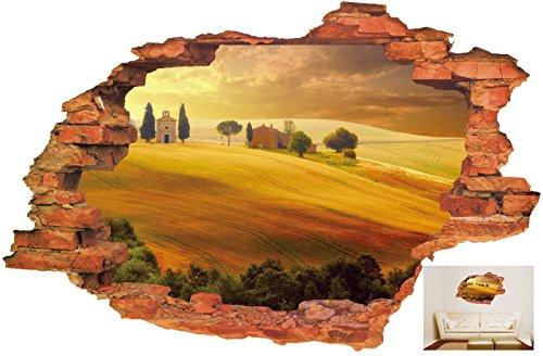 YUCH La Décoration Murale 3D'Ameublement De Maison Nature Peut Également Déposer Le Mural