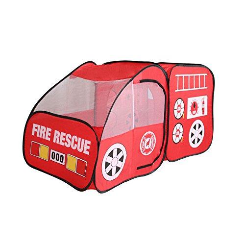 Tente de Juego de los Niños Carlinga roja Que Diseña los Juguetes Plegables Interiores y al Aire Libre de los Juguetes (Solamente una Tienda)