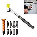 HiYi PDR Beulen-Reparatur-Hammer mit verschiedenen Aufsätzen, DIY, 10 Stück