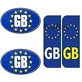 Best Bumper Stickers - GB Euro Car Number Plate Bumper Stickers EU Review