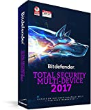 Bitdefender Total Security Multi Device 2017 ? 5 Geräte | 3 Jahre / 1095 Tage (MAC, Windows & Android) - Aktivierungscode (bumps) -