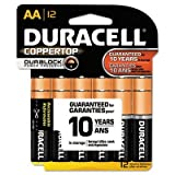CopperTop Alkaline Batteries with Duralock Power Preserve Technology, AA, 12/Pk, Sold as 2 Package