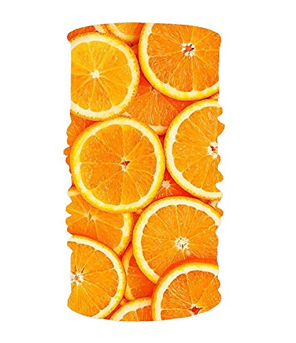 Abbigliamento Pineapple Lemon Orange Pattern Unisex Outdoor Ski Moto Full Face Mask Bandana protezione del collo