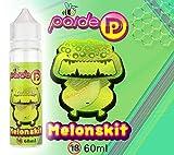 60ML Paide Premium E-Liquid - Sin nicotina - Líquido para cigarrillo electrónico - 70VG 30PG - Sabores totalmente diferentes a lo convencional - Para personas que no se conforman con lo normal (Melonskit)