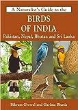 Birds of India : Pakistan Nepal Bhutan and Srilanka