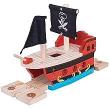 Bigjigs Rail Galeón Pirata